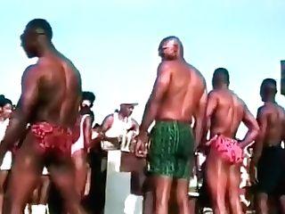 Black Fellows Swimwear Contest