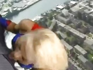Supergirl Kelly Trump Makes An Flying Dt - Hilarious!