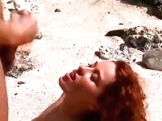 Erika Bella, Buxomy Redheaded Fucking In A Tropical Beach